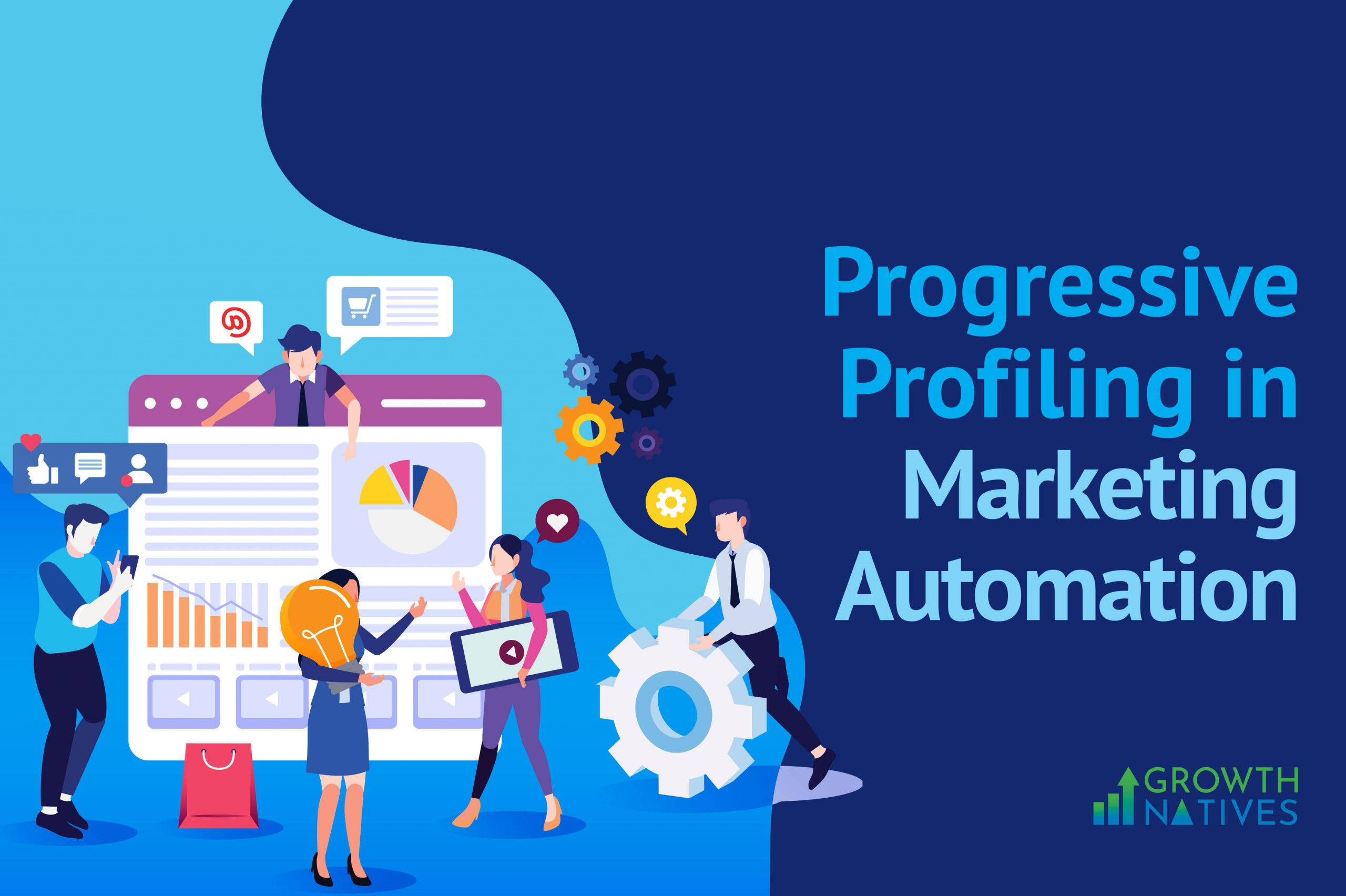 progressive profiling in Mktg. Automation