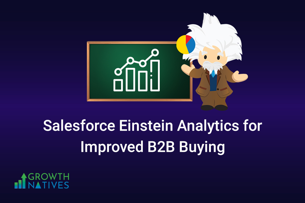 Why You Should Use Salesforce Einstein Analytics to Improve B2B Buying