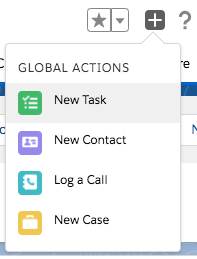 Salesforce tips - Global Actions